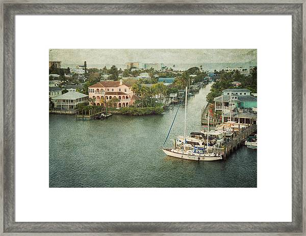 View At Fort Myers Beach - Florida Framed Print