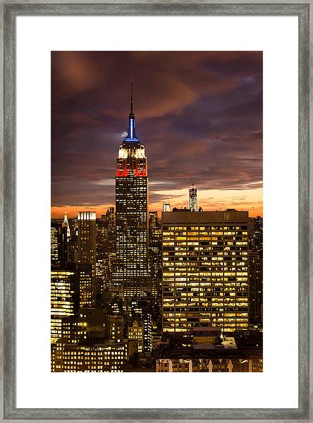 View From 30 Rock 2 Framed Print