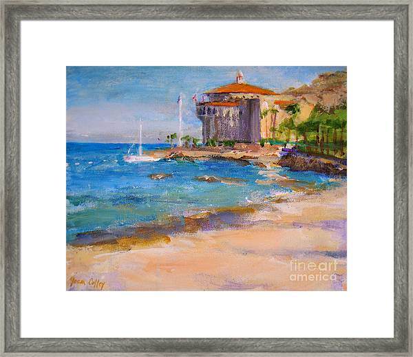 View From Descanso Beach Framed Print