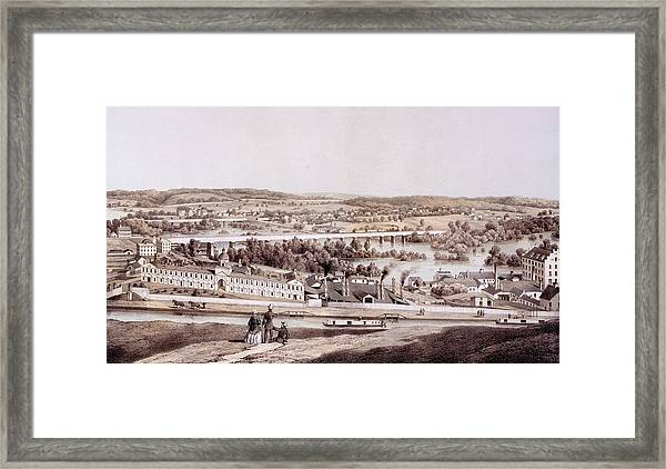 View From Gambles Hill, Richmond Framed Print