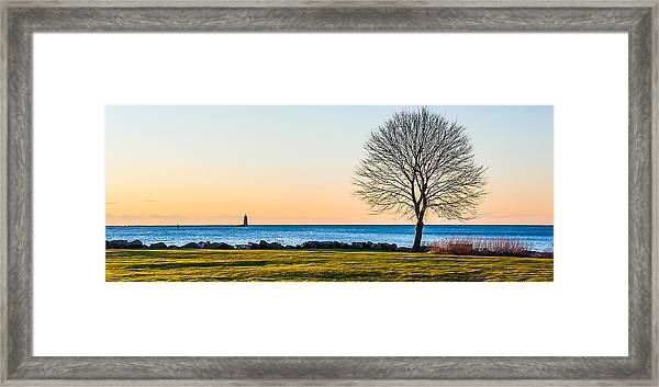 View From Great Island Common Framed Print