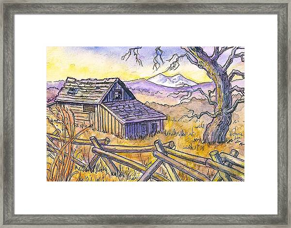 View From Strauss Cabin Road Framed Print
