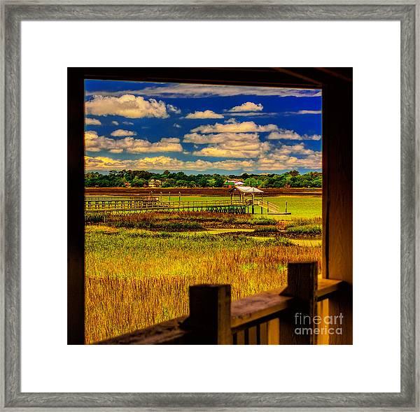 View From The Porch Framed Print