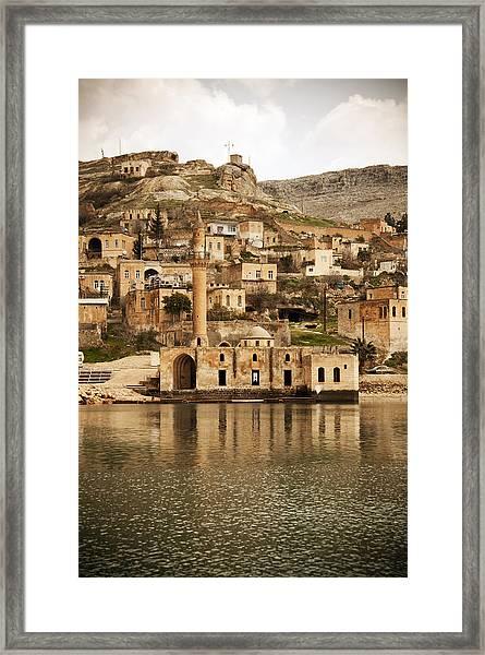 view of Halfeti Framed Print by Fotosipsak