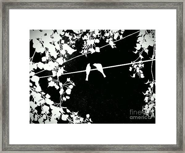 Vignette Framed Print