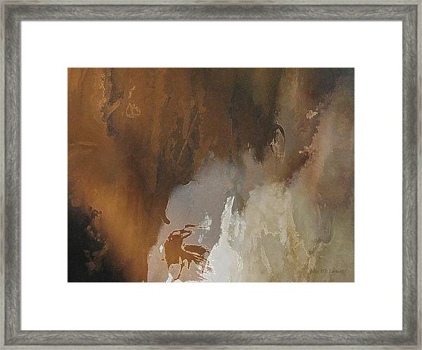 Vii - Mirky Wood Framed Print