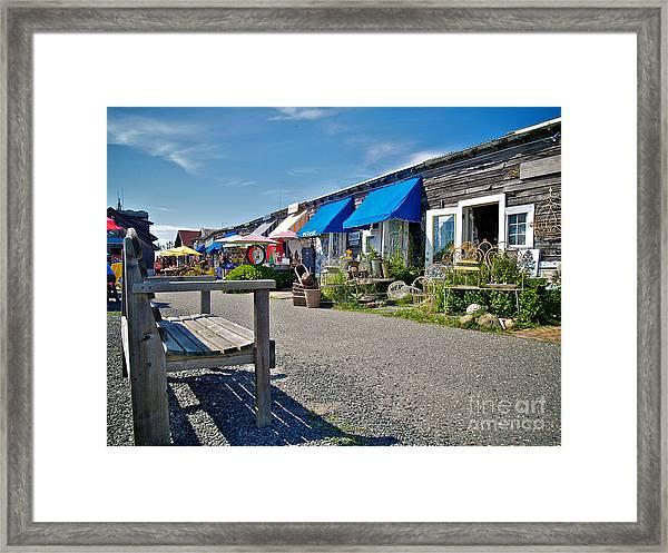 Viking Village Framed Print