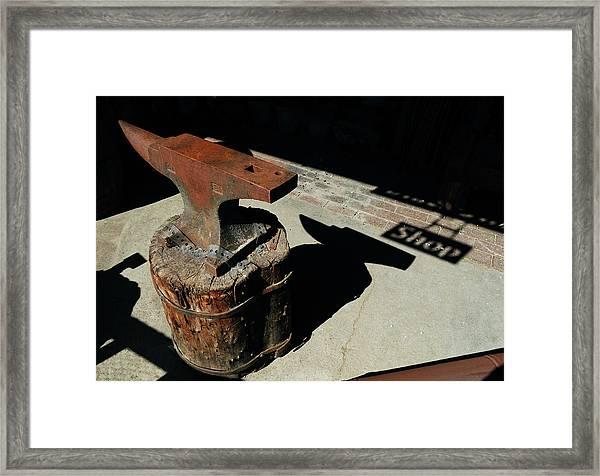 Village Smithy  Framed Print