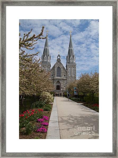 Villanova University Main Chapel  Framed Print