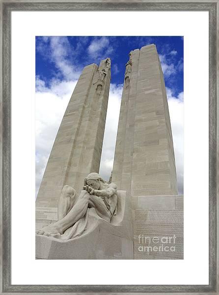 Vimy Ridge Memorial France Framed Print