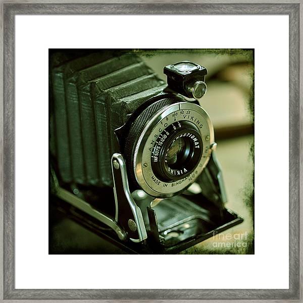 Ansco Viking Camera Framed Print