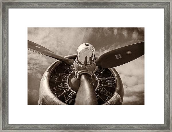 Vintage B-17 Framed Print