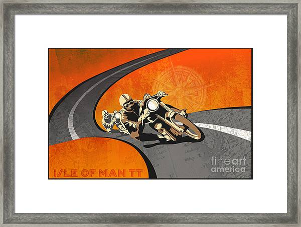 Vintage Motor Racing  Framed Print