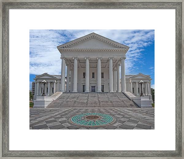 Virginia Capitol Framed Print
