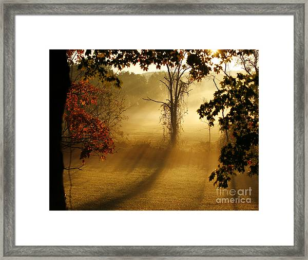 Virginia Sunrise Framed Print