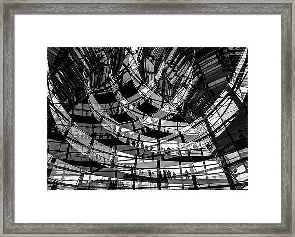 Visitors Framed Print