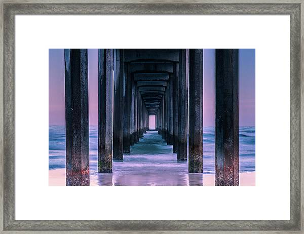 Vista Framed Print by Andreas Agazzi