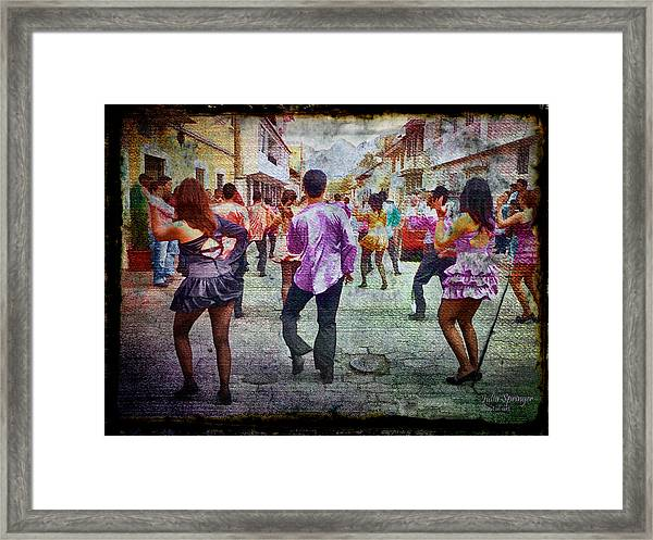 Viva La Fiesta Framed Print