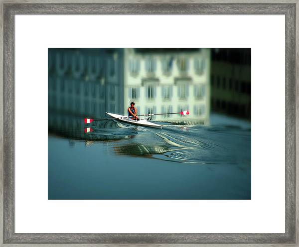 Volo A Vela  Framed Print