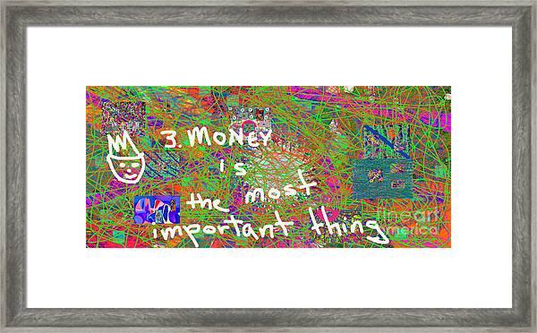 Volord Kingdom Rule #3 Framed Print