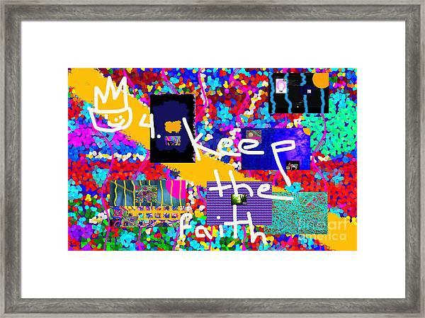 Volord Kingdom Rule #4 Framed Print