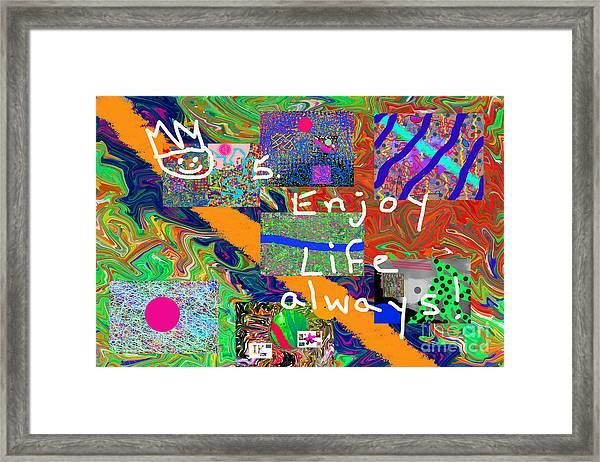 Volord Kingdom Rule #5 Framed Print