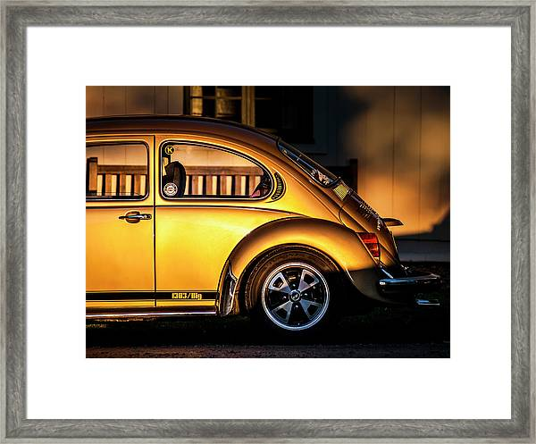 Vw Framed Print by Benny Pettersson