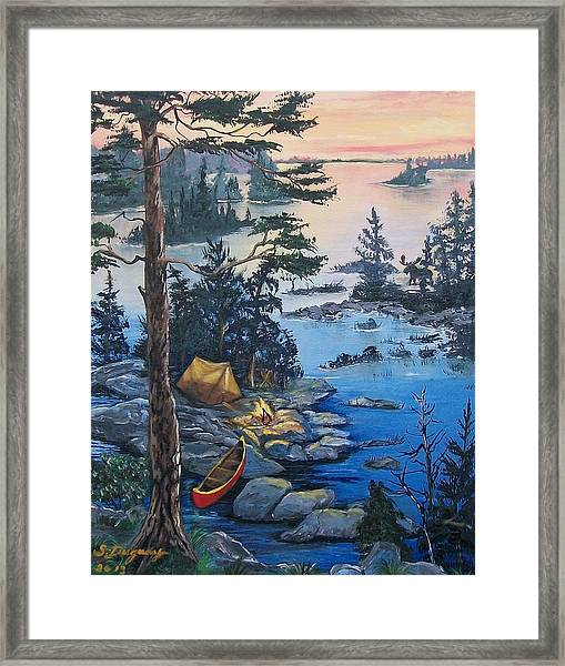 Wabigoon Lake Memories Framed Print