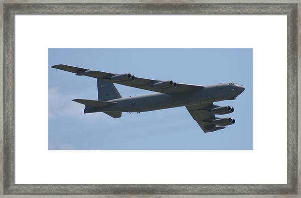 Wafb 09 B52 Stratofortress Framed Print