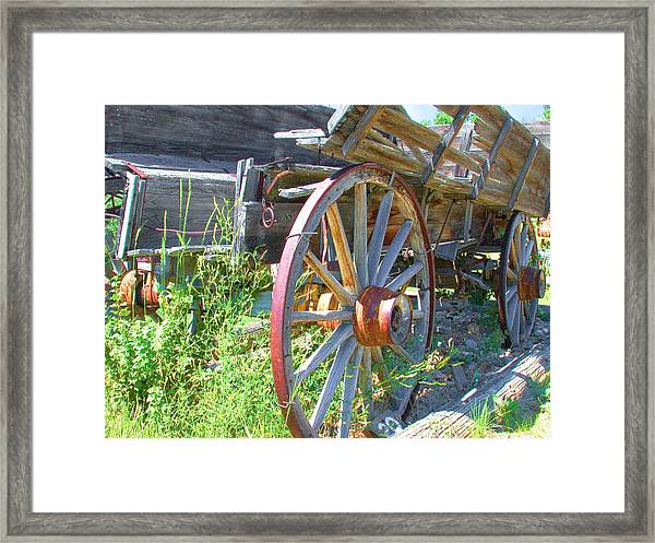 Framed Print featuring the photograph Wagon by David Armstrong