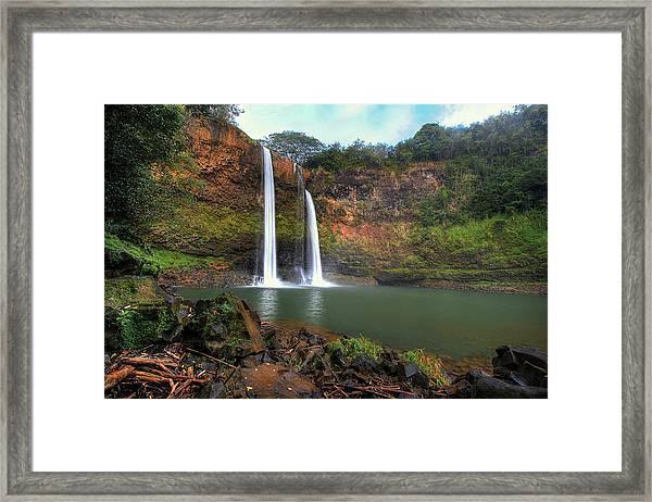 Wailua Falls  Framed Print