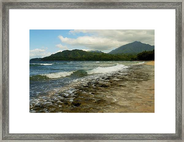 Wainiha Bay - Kauai  Framed Print