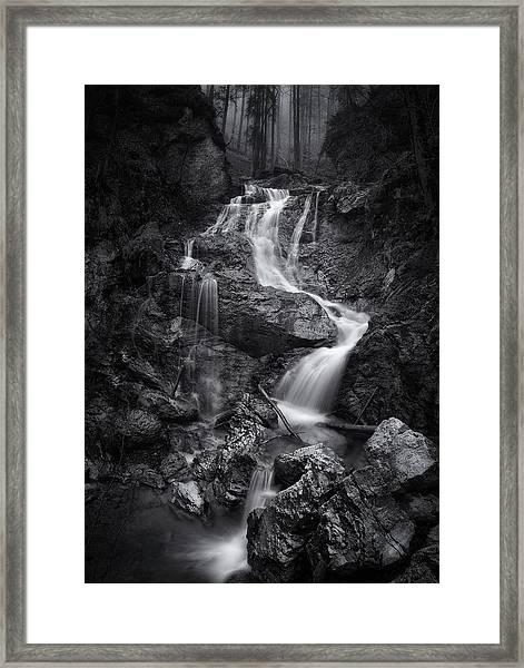 Waiting For Forever Framed Print by Norbert Maier