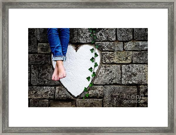 Waiting For Love Framed Print