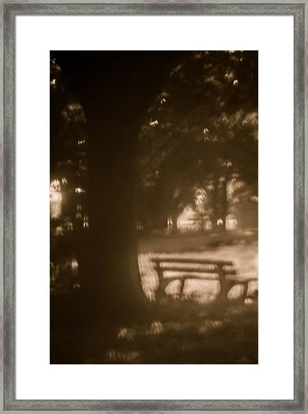 Waiting For Memories  Framed Print