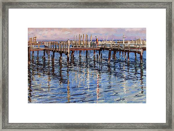 Waiting For Summer Framed Print by Anthony Sell