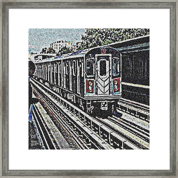 Waiting For The Sardine Can Framed Print