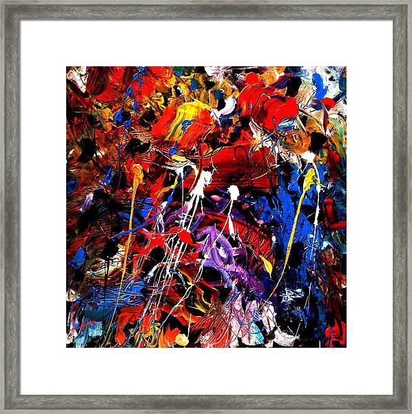 Wake The Tiger Framed Print