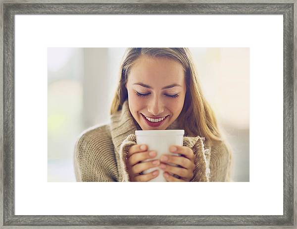 Wake Up And Smell The Coffee Framed Print by PeopleImages