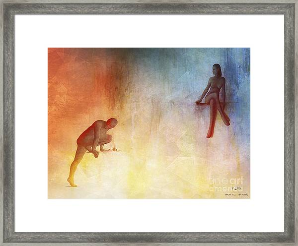 Waking Hells Framed Print