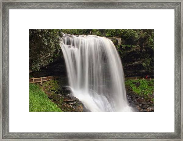 Walk Under A River Framed Print