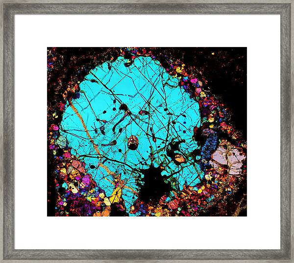 Walking On Thin Ice Framed Print