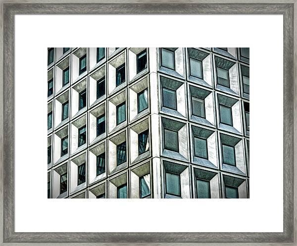 Wall Street Building Framed Print