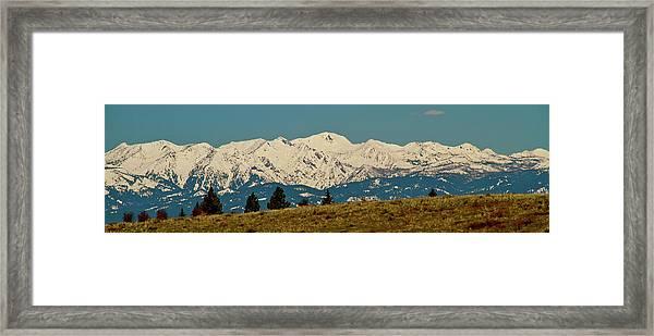 Wallowa Mountains Oregon Framed Print