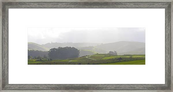 Wander The Hills Framed Print