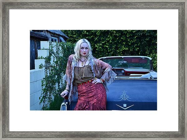 Wanna Take A Ride Framed Print