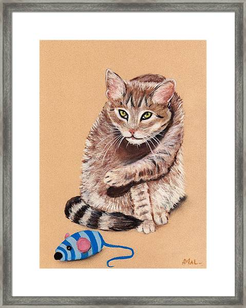 Want To Play Framed Print
