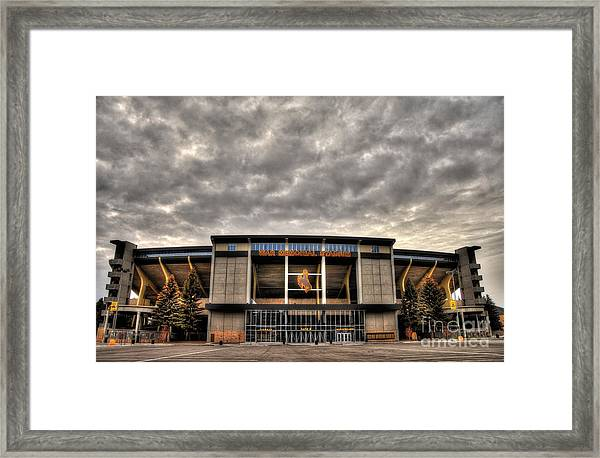 War Memorial Stadium Framed Print
