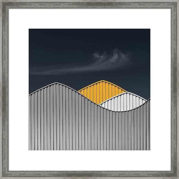 Warehouses Framed Print