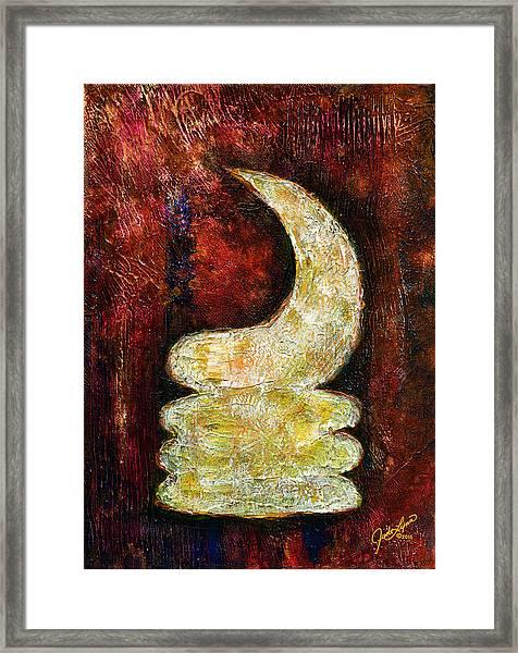 Warhorn Framed Print